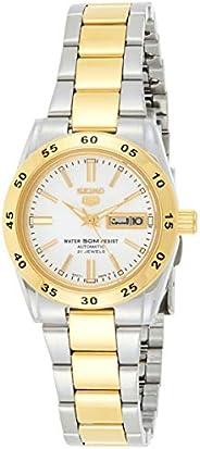 Seiko Womens Quartz Watch, Analog Display and Stainless Steel Strap SYMG42K1