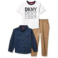 DKNY Boys' Pants Set, Williamsburg Bridge kelp, 5