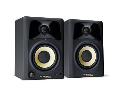 marantz pro studio scope 3 enceintes compactes 20w de bureau pour cr ation multim dia sur mac. Black Bedroom Furniture Sets. Home Design Ideas