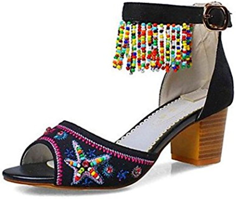 Amy Q - Zapatos de tacón  mujer 46 EU negro