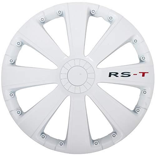 Satz Radzierblenden RS-T 14-Zoll Weiß