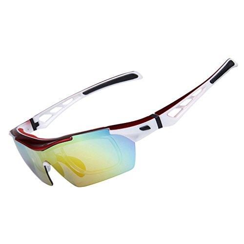 Vitalite anti-buée pour vélo lunettes de soleil polarisées pour conduite de Course Racing noir Noir x82LVqfc
