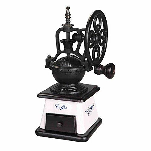 Mélangeur de café à main / Petit broyeur / Machine à café manuelle couverte / Moulin à café rétro