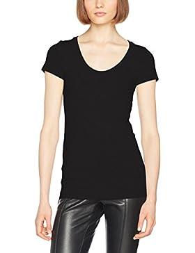 G-STAR RAW Base R T Wmn Cap SL, Camiseta para Mujer