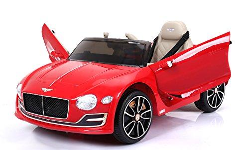 Bentley EXP12, Rojo Pintado, Licencia original, Batería accionada, Puertas de la abertura, Asiento de cuero, Motor 2x, Batería de 12 V, 2.4 Ghz teledirigido, Ruedas suaves de EVA, Arranque suave