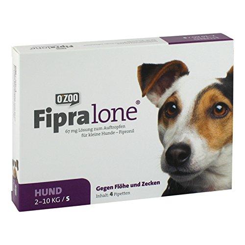 FIPRALONE 67 mg Lsg.z.Auftropf.f.kleine Hunde 4 St Lösung