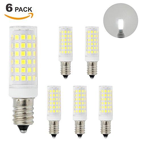 Lamparas Bombillas de LED Casquillo Pequeño E14 11W de Bajo Consumo Luz Fria 6000K El Más Brillante 1000Lm que Bombilla Halogena Incandescente de 60W Lot de 6 de Enuotek