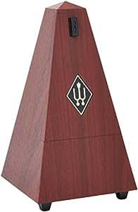Wittner Métronome Pyramidal Veinure acajou