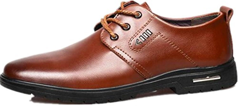 Dalinfa - Zapatos de Cordones para Hombre Negro Negro 39 -