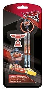 Undercover caad0153-Juego de lapiceros, Disney Pixar Cars 3