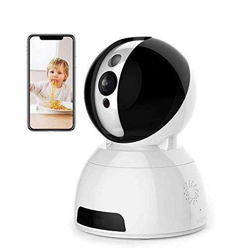 Fbestbody WLAN IP Kamera 720P als Home/Baby Monitor mit Schwenk und Neige, Zwei-Wege Audio, Nachtsicht Funktion,iPhone/Android Allgemeine Gerät kompatibel,Modell CM03 - Schwenk-ecke
