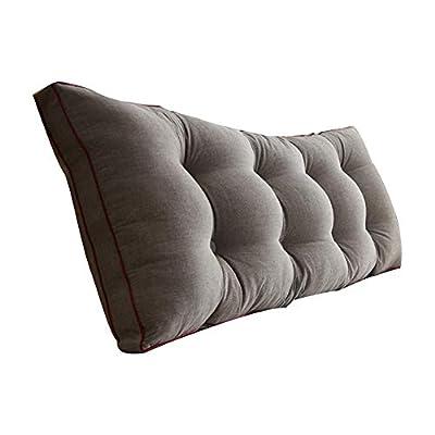Uus Bett Kissen mit/ohne Kopfteil Waschbar Baumwolle Lesekissen Soft Linen, 7 Farben, 4 Größen Pillow von AMAN bei Gartenmöbel von Du und Dein Garten