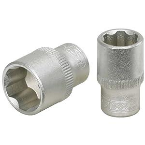 KS Tools 911.1409-E Douille F6 – 1/4″ – 9 mm – CHROMEmat – sur support pas cher