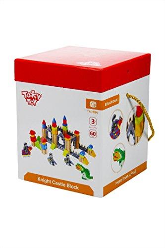 Tooky Toys TKC554 - Castillo de Madera para Caballeros