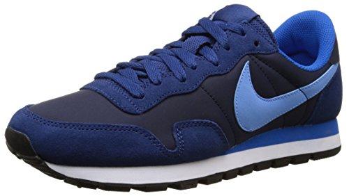 Nike Air Pegasus 83, Zapatillas de Running para Hombre, Negro/Azul (Obsidian/Unvrsty Blue-Insgn Bl), 43 EU