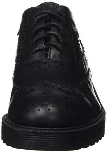 XTI Damen Zapato Sra Metalizado Negro Halbschuhe Schwarz