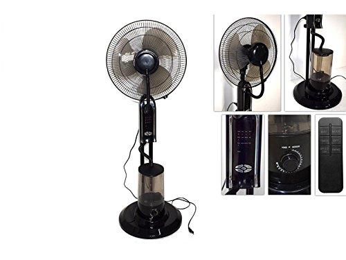 Ventilatore con nebulizzatore timer e telecomando estate raffrescamento