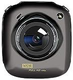 Fulltime E-Gadget Recorder 1080P Fahrrecorder Dual-Kamera mit Rückblick-Nachtsicht haben WAR-Funktion Mit Mikrofon (Schwarz)