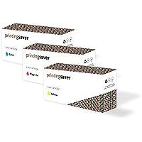 CIANO, MAGENTA, GIALLO toner compatibili per HP Colour Laserjet 2550,