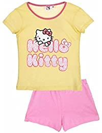 Hello Kitty - Camiseta de pijama - para niña