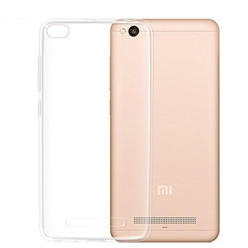 SHOPWAY Soft Jelly Ultra thin 0.80mm Full Protection Clear TPU Back Case Cover Transparent For Xiaomi Mi Redmi 4A  available at amazon for Rs.90