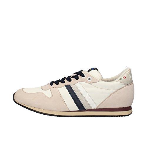 SERAFINI sneakers uomo pelle scamosciata tessuto (42 EU, Grigio)