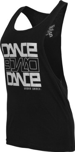 Urban Classics - Débardeur Danse UD019 'Urban Dance' (plusieurs couleurs) - L, noir/Sil