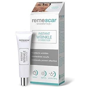 Remescar – Corrector de arrugas al instante – Probado clínicamente – Reducción de las arrugas y de los signos relacionados con la edad – Crema antiarrugas para hombre y mujer – Resultados inmediatos