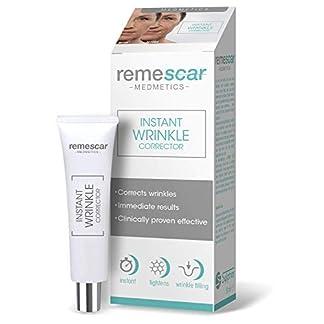 Remescar – Corrector de arrugas al instante – Probado clínicamente para la reducción de las arrugas y el envejecimiento – Crema antiarrugas para hombre y mujer – Reduce los signos del envejecimiento