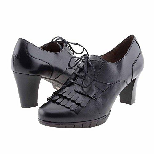 I-6019 scarpe stile Blucher delle Wonders Misure: 37 Colore: NERO