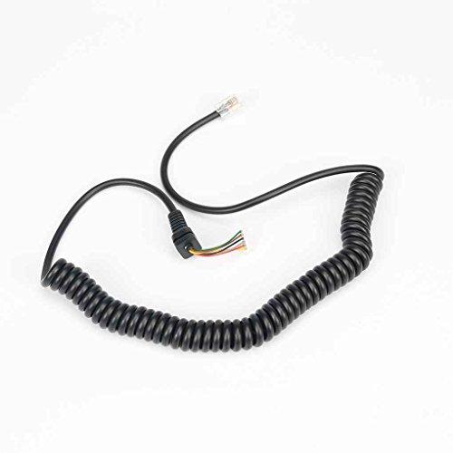 egalbest Mikrofon Kabel Line Kabel für Yaesu mh-48a6j FT-8900ft-7100m ft-2800m ft-8900r ft-1802ft-1807 -