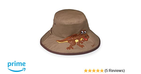 Wallaroo Boy s Kid s Dinosaur UV Sun Hat - UPF50+ Sun Protection 2-5 Years  (52 cm)  Amazon.co.uk  Sports   Outdoors 14929ab3ab09