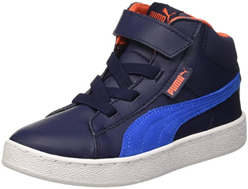 Puma 1948 Mid L V Ps Sneaker Children and Teenagers Gymnastics Peacoat/Royal