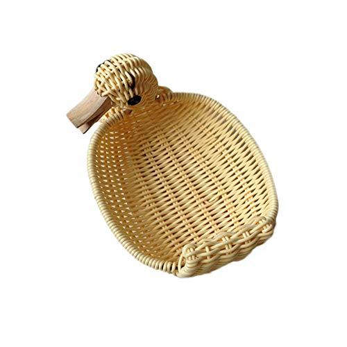 Hand-woven Rattan-speicher-korb,snacks Spielzeug Aufbewahrung Körbe,für Das College Dorms,büros,schränke,kinderzimmer Etc.-a- 18x14cm(7x6inch) -