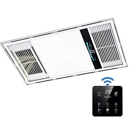 Bathroom Heater Xinjin Calentador de Techo 2800W for el baño Calefacción Escape Aire frío multifunción...