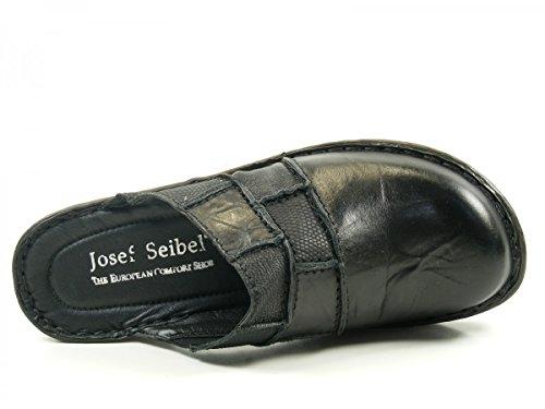 Josef Seibel 62933-88 Rebecca 33 Sandali Muli Zoccoli donna Schwarz