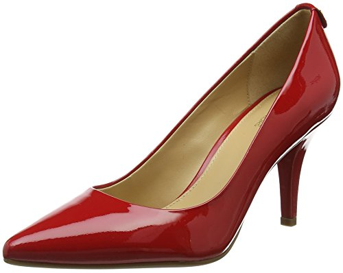 Michael Kors Damen Bright Red Pumps, Rot (Maki-Flex Mid Pump 40s1mfmp2a), 40 EU
