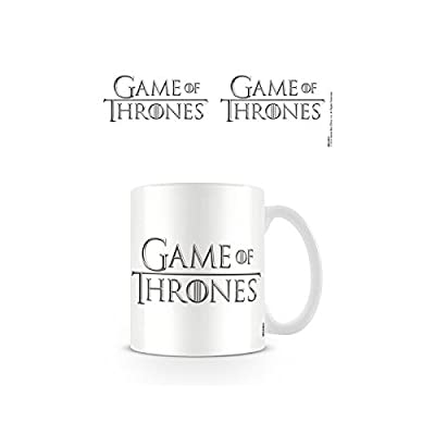 Mug Logo de Game of Thrones Blanc