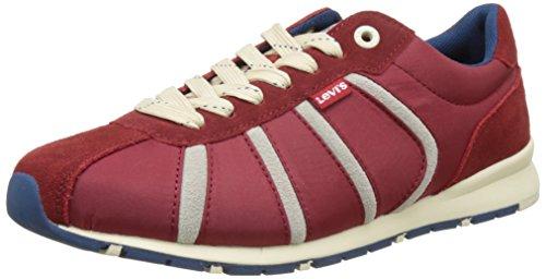 Levi's Almayer Ii, Baskets Basses Homme Rouge (Regular Red)