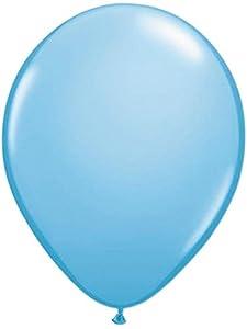 Folat 08174 - Globos transparentes (30 cm, 10 unidades), color azul
