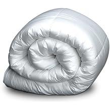 Bertha hogar - Nórdico de microfibra 300gr. dacron(260x220 cm, cama 160), color blanco