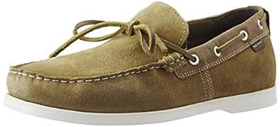 Redtape Men's Ruggine Leather Boat Shoes - 7 UK/India (41 EU)