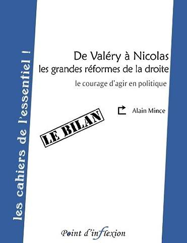 Alain Nicolas - De Valery a Nicolas, les grandes reformes