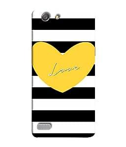PrintVisa Designer Back Case Cover for Oppo Neo 7 :: Oppo A33 (Love Lovely Attitude Men Man Manly)