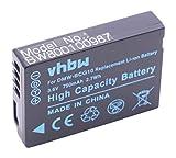 vhbw Li-Ion Akku 750mAh (3.6V) für Kamera Camcorder Video Panasonic Lumix DMC-3D1, DMC-TZ10, DMC-TZ18, DMC-TZ20, DMC-TZ22 wie