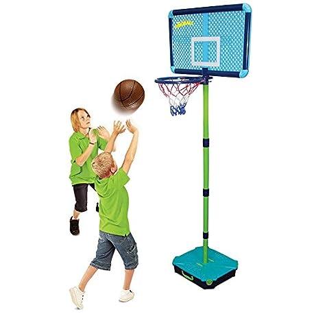 Gen rico Base de bola soporte de tablero trasero para ni os ajustable de baloncesto Red de Hoop Bola P Portable Set Baske B