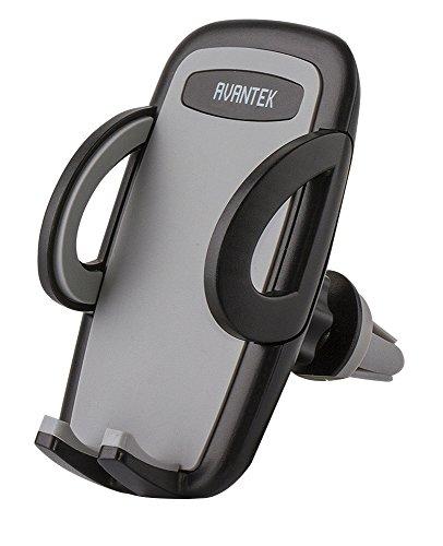 AVANTEK Supporto Auto Air Vent Porta Cellulare con Rotazione di 360° Installazione Facile per l'Uso con Telefono di Ogni Dimensione