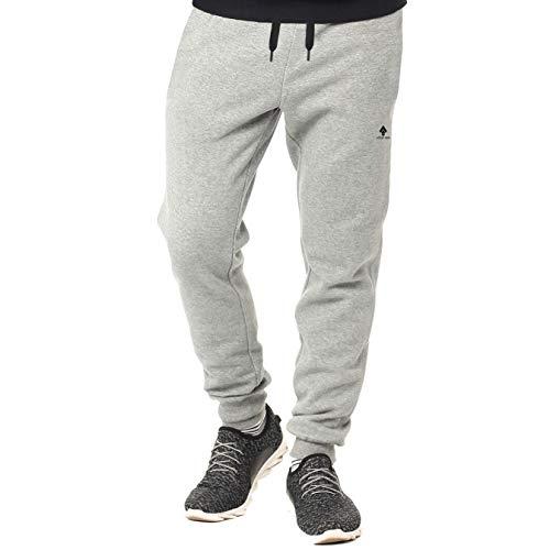 urban ace | Athleisure One | komfortable Jogginghose, Sporthose, Sweatpants | Herren | für Fitness und Freizeit | grau | L