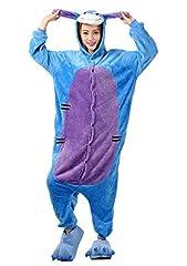 Idea Regalo - Haroty Unisex Adulto asino Pigiama con cappuccio Camicie da Notte da Cosplay Halloween Costume Animale flanella Pajamas Tuta (L)