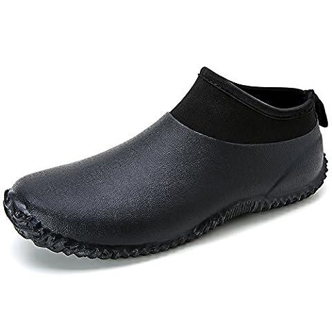 Men's rubber boots short circuit boots rain boots Fashion Neoprene